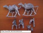 2X Roman Armoured Camel Riders With Spears