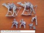 2X Roman Unarmoured Camel Riders With Javelins